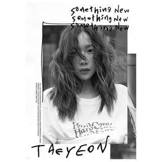 <<代購>> 太妍- Something New