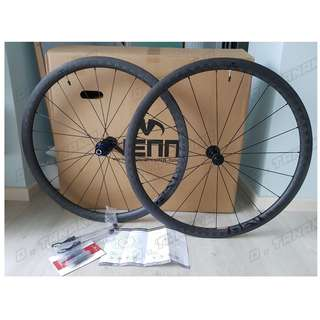 Brand New Venn Rev 35 Tubeless Clincher Carbon Wheelset