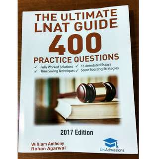 LNAT Practice Questions Revision Book!