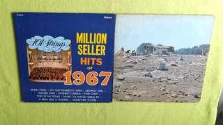 WOODSTOCK ● MILLION SELLER HITS OF 1967.  Crosby , Still , Nash & Young ● Joan Baez ● Melanie ● Jefferson Starship ● Butterfield Blue Band . ( buy 1 get 1 free )  vinyl record