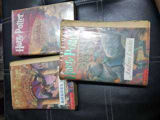 Harry Potter Part 1 , 2 and 3 (soft bound)