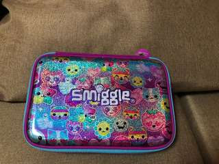 Authentic Smiggle Hardtop Double Zip Pencil Case