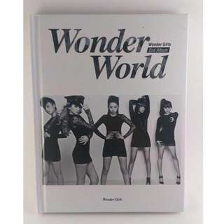 🚚 Wonder Girls ‎– Wonder World (2nd Album)[韓版] #畢業兩百元出清