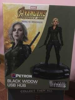Avengers Black Widow USB HUB