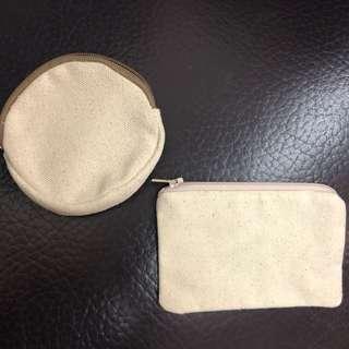米色帆布散紙包