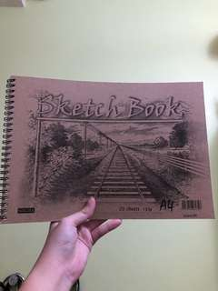 A4 20 Page Sketchbook!!