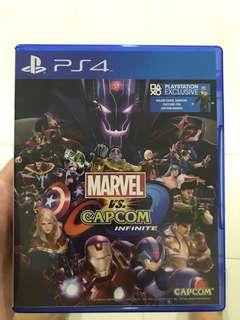 PS4 Marvel Capcom Infinite