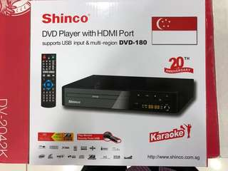 Shinco DVD HDMI USB KARAOKE PLAYER