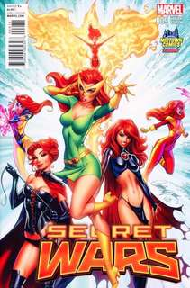 Secret Wars #9 Jean Grey Var JScottCampbell
