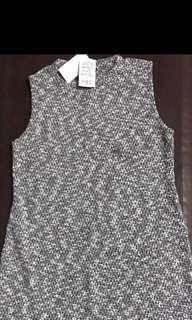 Jewel Gray Knitted Dress