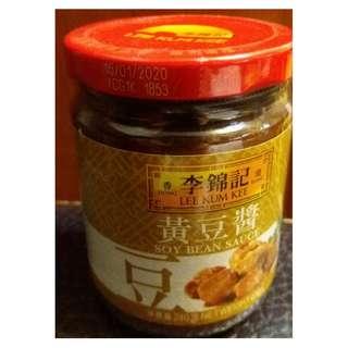 李錦記黃豆醬 Lee Kam Lee Soy bean sauce