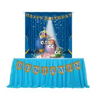 FOR RENT [Soot Spites Backdrop Banner] FOR BIRTHDAY, BABY SHOWER, KIDS PARTY