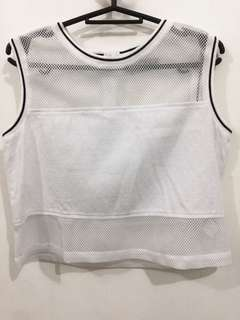 JUST G sleeveless crop top