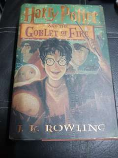 Harry Potter and The Goblet of Fire (hardbound)