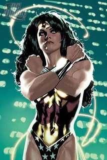 Adam Hughes Print Wonder Woman Cat Woman Etc 1k each