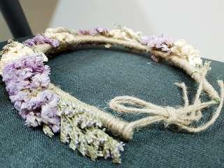 Flower girl head band