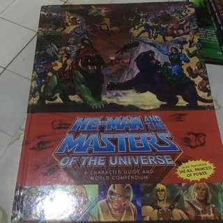 He-Man and the Masters of the Universe (HB)