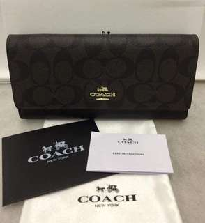 Coach Wallet Buy1 Get1