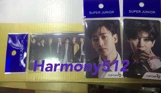 Super Junior Cashbee card