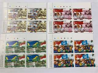 Singapore 1998 singapore story in blk of 4 mnh