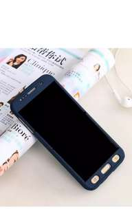 Ultra thin 360°full protection case for Samsung A5 2017 - navy blue