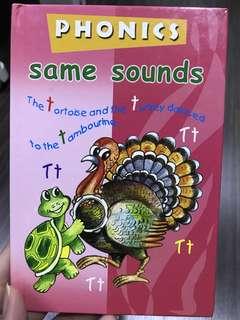 Phonics sounds book