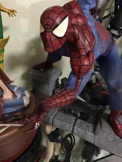 FS Damaged Premium Format Classic Spiderman good for Customs  No Box