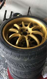 Rim Advan RS-D ,18,8jj utk dijual