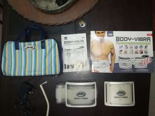 JML Body-Vibra 3in1 Multifunction Slimming Massager Belt