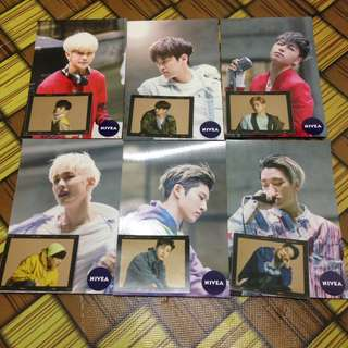 iKON NIVEA POSTCARD + RETURN STICKER