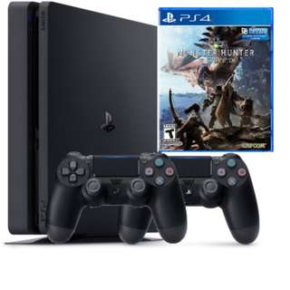 (PS4 FOR RENT) Monster Hunter World Bundle