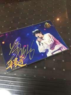 花花 我是歌手 华晨宇 亲笔签名照片 宣传照 06