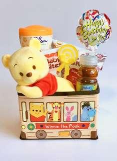Yummy Snacks Hamper - Winnie the Pooh