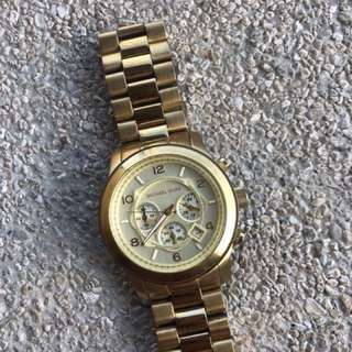 Preloved: Authentic Michael Kors Oversized Watch