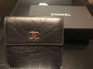 Chanel Wallet 山茶花短銀包