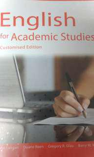 Hkcc EAS textbook -English for academic students