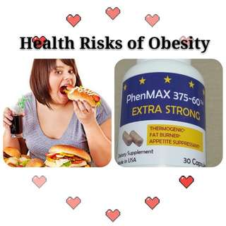 PHENMAX SLIMMING ○ LOWER APPETITE ○ MADE IN USA ○ BOOST ENERGY & METSBOLISM ○ INCREASE PHYISCAL EXERCISE & STAMINA ○ BURNS FATS ○