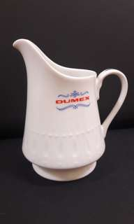 Vintage EAC Crockery White Porcelain Creamer