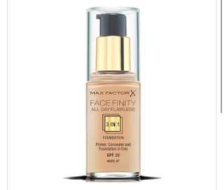 Max Factor Face Finity All Day Flawless Golden 75