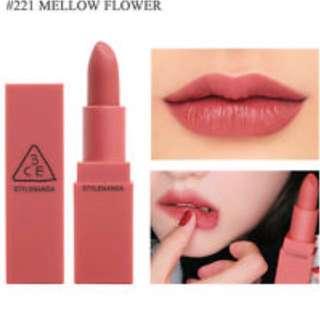 3ce stylenanda mood recipe 221 mellow flower
