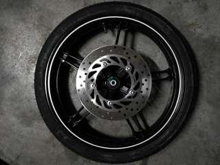 Sportrim Y15ZR Complete Usia Baru 4 Hari Ori Motor