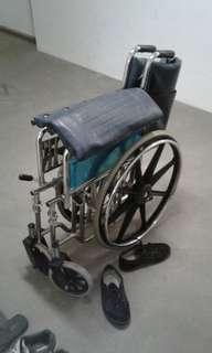Full alloy wheelchair