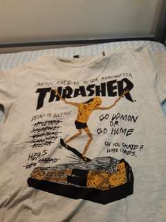 *Reprice* Authentic Trasher collab neck face