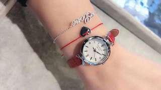 代購美國卡斯麗 CRISELLA 腕錶手鏈手繩套裝