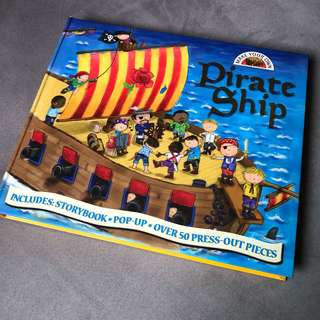 Pirate Ship Pop Up with Story Book (Used)