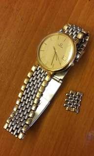 ⌚CLASSIC Vintage Quartz OMEGA DeVille Wrist Watch