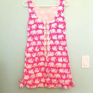 Lilly Pulitzer 'tusk in sun' shift dress, size 2