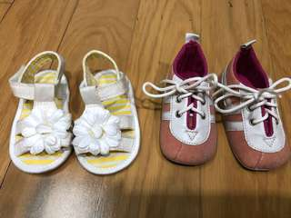 Mothercare & Maoo newborn shoes