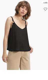 Rustic Tshirt with strap
