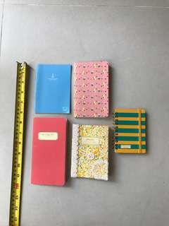 Handy Little notebooks